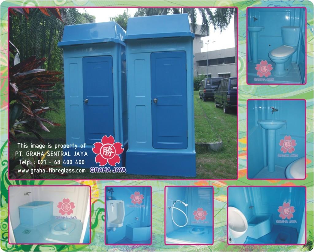 Portable Toilet Fiberglass - Graha Jaya